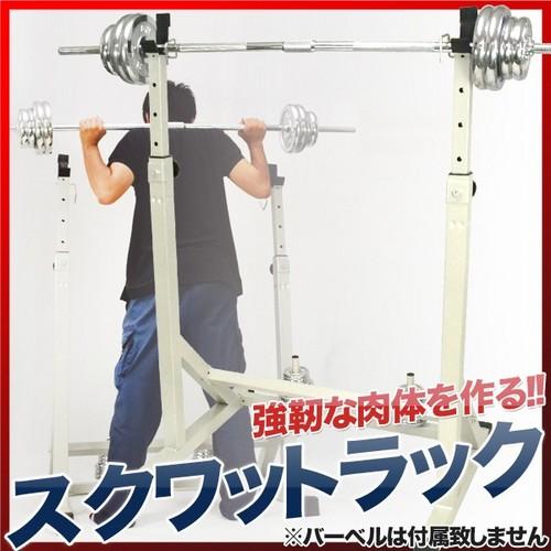 【送料無料】スクワットラック AND-6006A フィットネス・ジムトレーニング【代引不可】