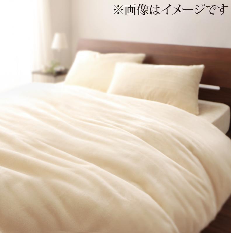 【送料無料】プレミアムマイクロファイバー贅沢仕立てのとろけるカバーリング〔gran〕グラン ベッド用3点セット クイーン スモークパープル【代引不可】
