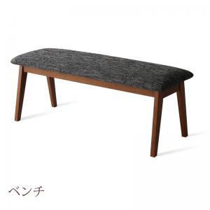 【送料無料】北欧デザイン 天然木伸縮式テーブルダイニングシリーズ 〔duree〕デュレ ベンチ単品 グレー【代引不可】