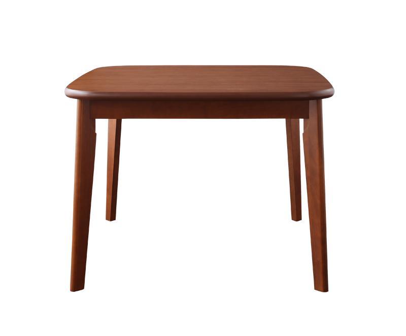 ソファ&ダイニングセット〔DARVY〕ダーヴィ〔テーブル(W90cm)単品〕 ウォールナット【代引不可】