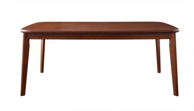【送料無料】ソファ&ダイニングセット〔DARVY〕ダーヴィ〔テーブル(W160cm)単品〕 ウォールナット【代引不可】
