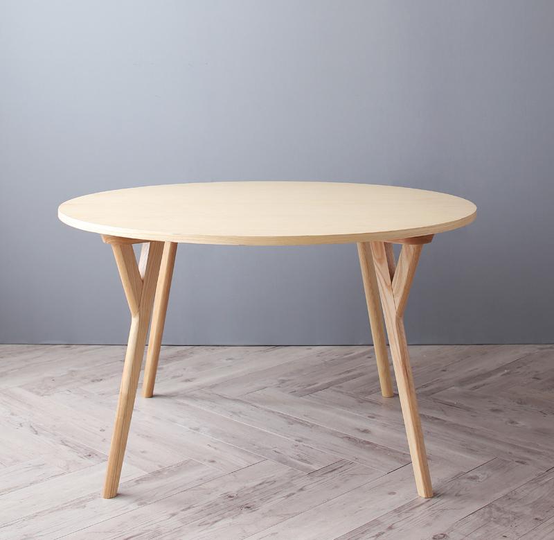 【送料無料】デザイナーズ北欧ラウンドテーブルダイニング〔Rour〕ラウール〔円形テーブル(直径120)単品〕【代引不可】