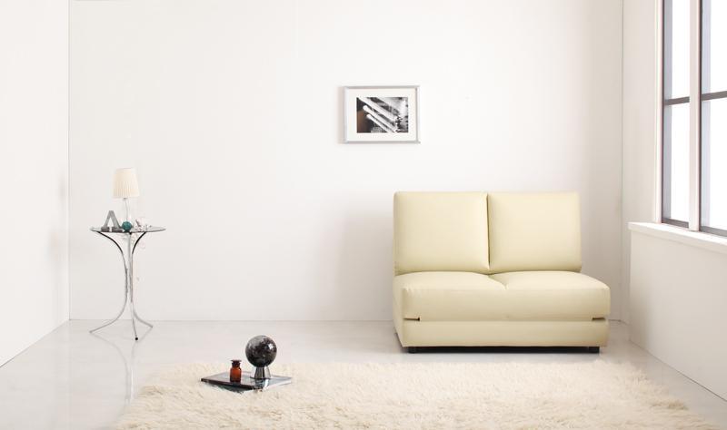 【送料無料】デザインソファベッド〔Cleobury〕クレバリー W95 ブラック【代引不可】