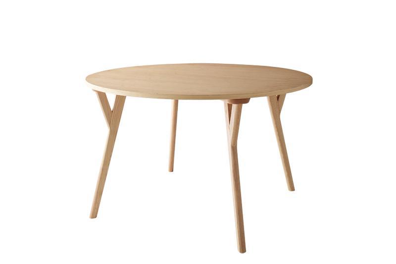 【送料無料】北欧モダンデザインダイニング〔Rund〕ルント テーブル(W120)単品販売【代引不可】