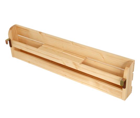 【送料無料】タイプが選べる頑丈ロータイプ収納式3段ベッドシリーズ〔fericica〕フェリチカ 専用ヘッド棚(タイプB・82cm)のみ単品販売・ベッド本体なし ホワイト【代引不可】