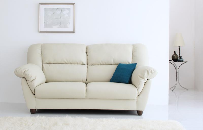 【送料無料】腰に優しいソファ 〔EULAC〕ユーラック 2Pサイズ(2人掛け) ブラック【代引不可】