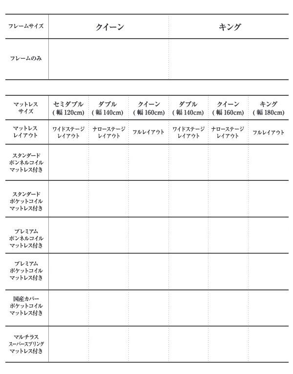 【送料無料】モダンデザインローベッド【FRANCLIN】フランクリン【ボンネルコイルマットレス:レギュラー付き】キングフルステージレイアウト(180cm)【】