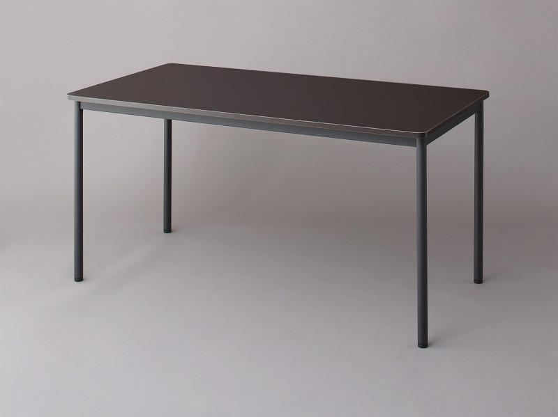 【送料無料】多目的オフィスワークテーブルシリーズ 〔CURAT〕キュレート ワークテーブル単品 奥行70cmタイプ W140 ダークブラウン【代引不可】