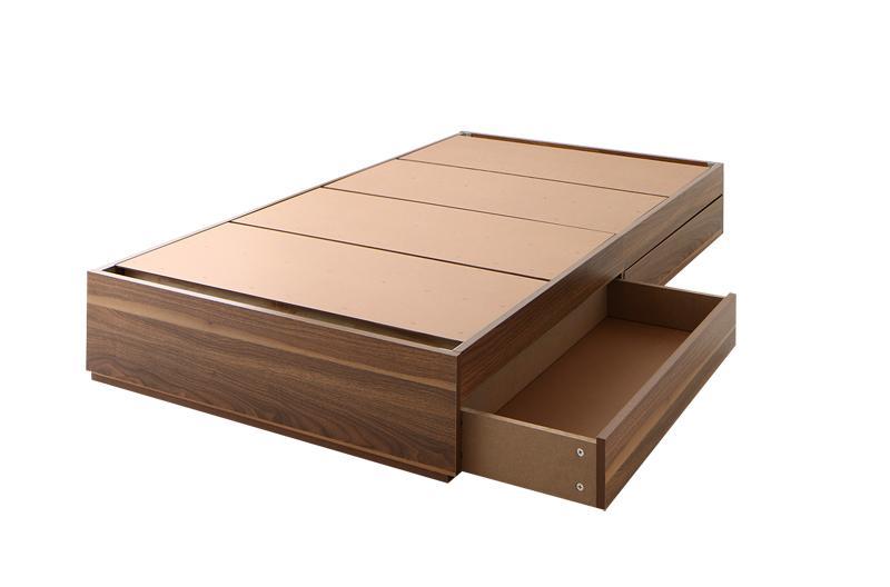 コンパクト収納ベッド 〔CS〕コンパクトスモール 〔ベッドフレームのみ・マットレスなし〕 スリム棚なし シングル ショート丈 〔フレーム色〕ナチュラル【代引不可】