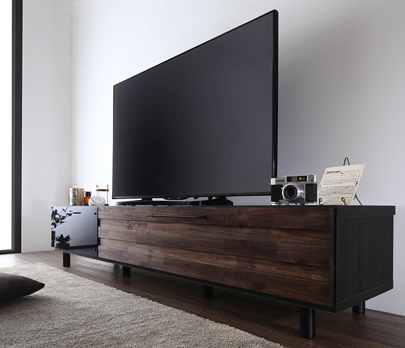 【送料無料】国産完成品 古木風ヴィンテージデザイン テレビボード 〔Nostal board〕ノスタルボード 幅180 ヴィンテージウッド【代引不可】