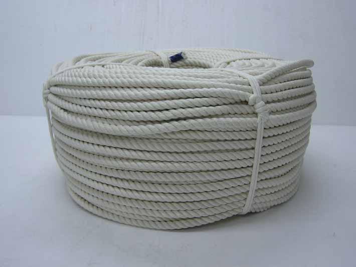 【送料無料】巻き物ロープ 綿ロープ 9mm×200m C9-200