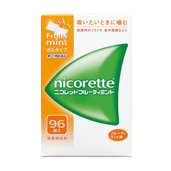 ★【指定第(2)類医薬品】 ニコレットフルーティミント(96個)