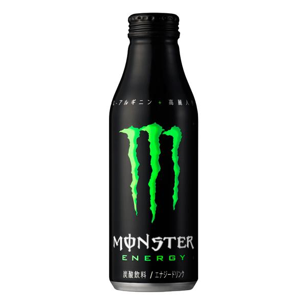 アサヒ モンスターエナジー ボトル缶 500ml×24本入り (1ケース) (KT)