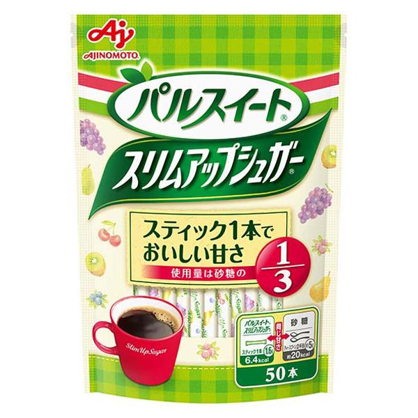 味の素 スリムアップシュガースティック 50P×40個入り (1ケース) (KT)