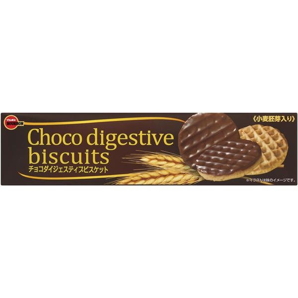 ブルボン チョコダイジェスティブビスケット 17枚×48個入り (1ケース) (MS)