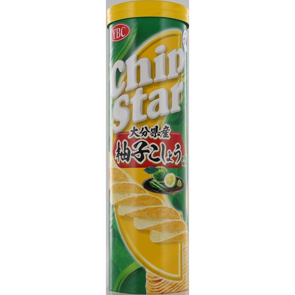 YBC チップスターL大分県産柚子胡椒味 115g×24個入り (1ケース) (YB)