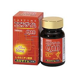 カルザイム(90粒)コエンザイムQ10 L-カルニチン セレン 亜鉛 健康食品 サプリメント 第一薬品 キャッシュレス 5%消費者還元