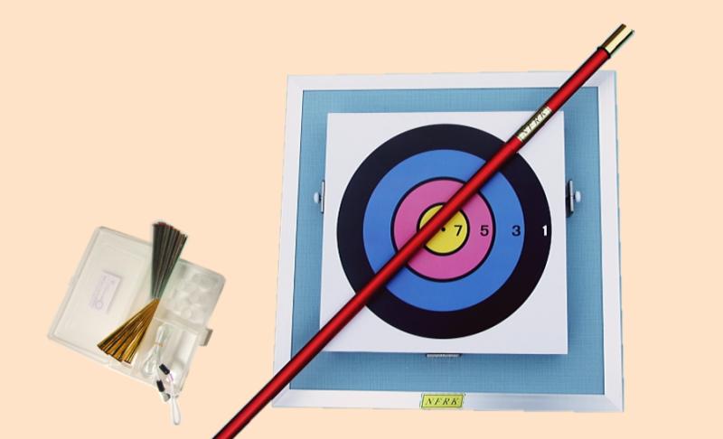 健康 スポーツ レクリエーション 吹き矢 ネイル式競技的壁掛セット