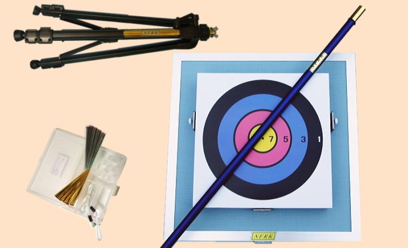 健康 スポーツ レクリエーション 吹き矢|ネイル式競技的スタンドセット