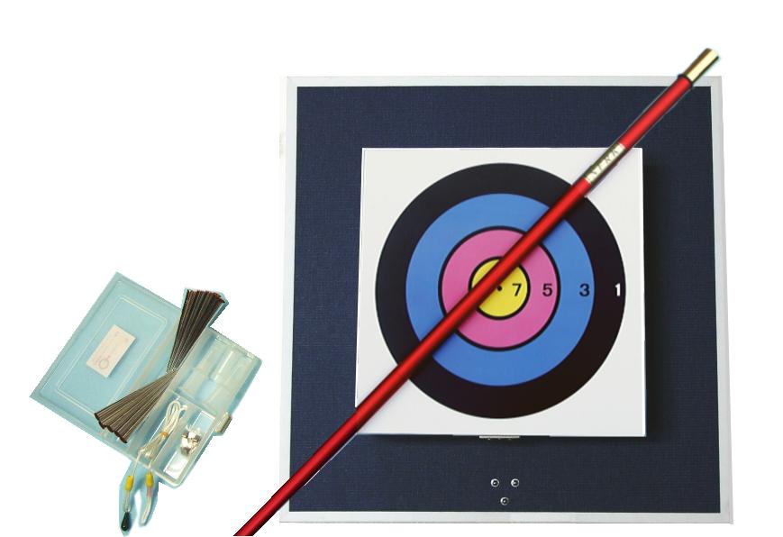 健康 スポーツ レクリエーション 吹き矢|ネイル式入門壁掛セット(NNK)