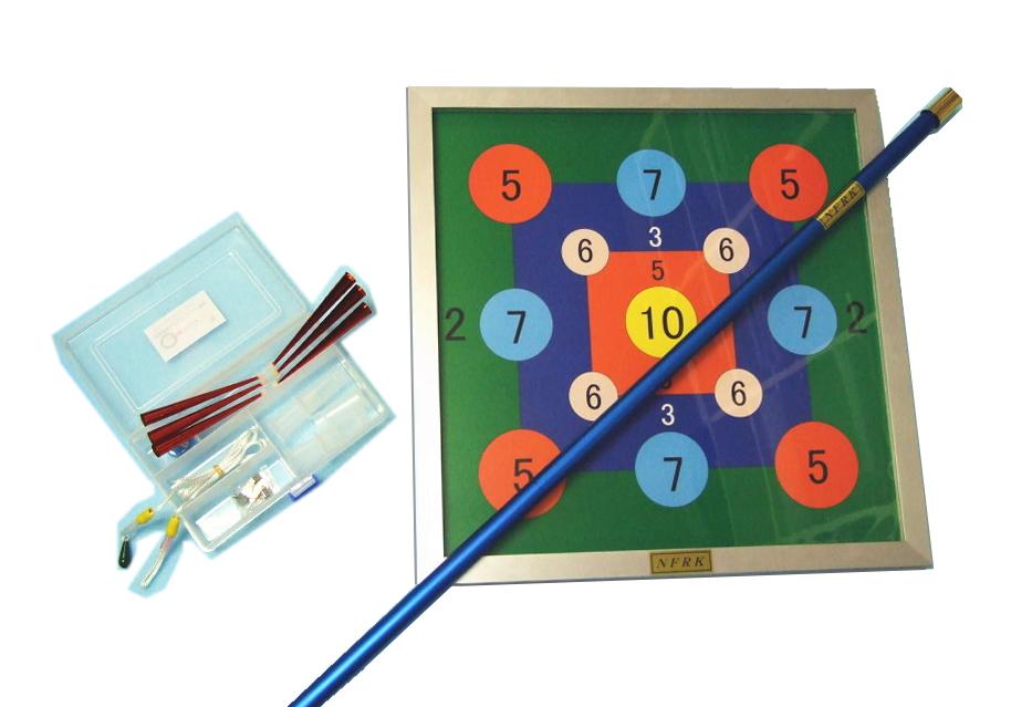 レクリエーション 吹き矢|吸盤式レクリエーション的吹き矢壁掛セット(QLK)