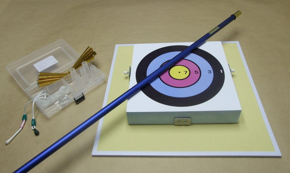 健康 スポーツ レクリエーション 吹き矢の入門用 初めての方でも直ぐに楽しめます 吹き矢入門セット 吹き矢 [再販ご予約限定送料無料] ネット限定 トラスト ネット限定特価品 筒は3色から選べます