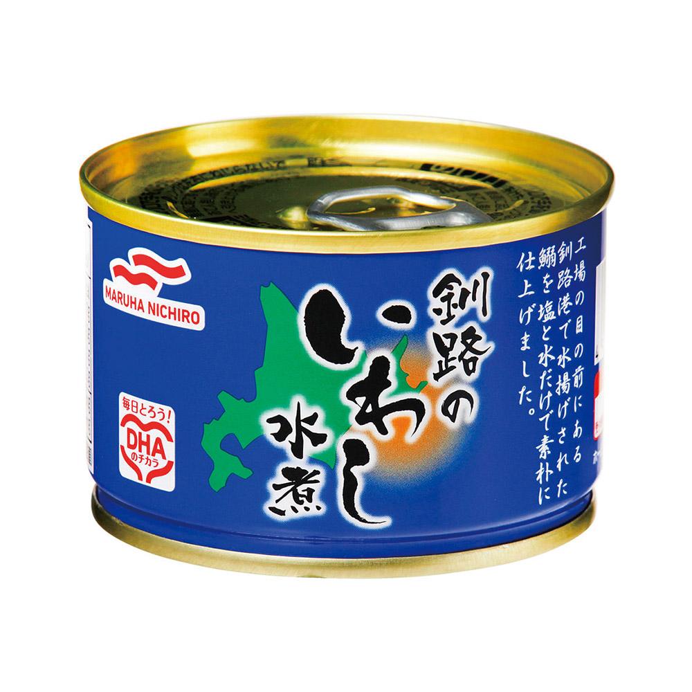 北海道 釧路近海で脂の乗った良質ないわしを使用 値下げしました マルハニチロ 釧路のいわし水煮 缶詰 48缶 1缶145円 送料無料 イワシ イワシ缶 AL完売しました 鰯 いわし 爆買い新作