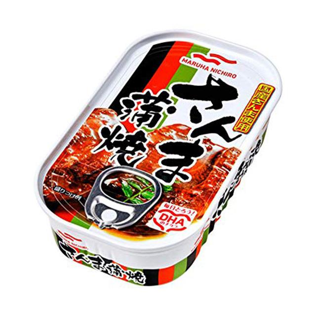 脂ののった国産さんま使用 昔ながらのタレで味付け 1缶214円 マルハニチロ 缶詰 100g×30缶 さんま蒲焼 SEAL限定商品 新作送料無料 送料無料