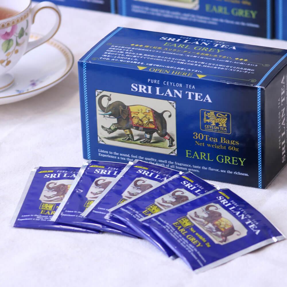 スリラン・ティー アールグレイ/アップルシナモン 選べる6箱セット(計180杯分)送料無料