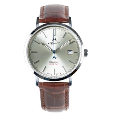 腕時計 Azusa ORTHODOXY アズサ オーソドキシー シャンパンゴールド クロコダイルベルトセット メカニカル 自動巻 日本製 オリジナル腕時計 メンズ【送料無料】