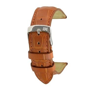 時計ベルト MORELLATO モレラート AMADEUS アマデウス U0518339 18mm 革ベルト アリゲーター マット【送料無料】