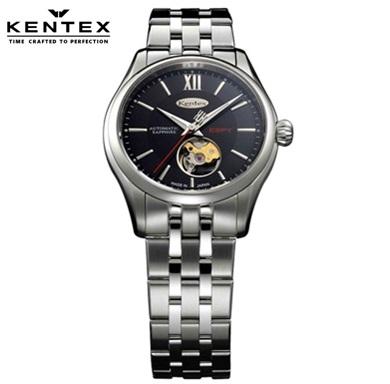 ケンテックス 腕時計 KENTEX E573M-08 エスパイ ESPY Openworked 自動巻 メタルバンド 日本製 メンズ【送料無料】