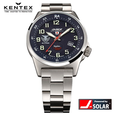 ケンテックス 腕時計 KENTEX S715M-05 JSDF ソーラー 防衛省自衛隊シリーズ 航空自衛隊モデル 日本製 メンズ