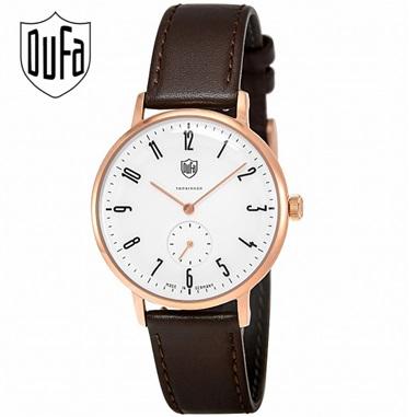 DUFA ドゥッファ 腕時計 DF-9001-05 腕時計 メンズ 男性用腕時計 メンズ腕時計 男性用 ドイツ時計 Walter Gropius ヴォルター・グロピウス クオーツ スモールセコンド WATCH ウォッチ レザーベルト レザーバンド 父の日 父の日プレゼント 父の日ギフト おしゃれ 小物
