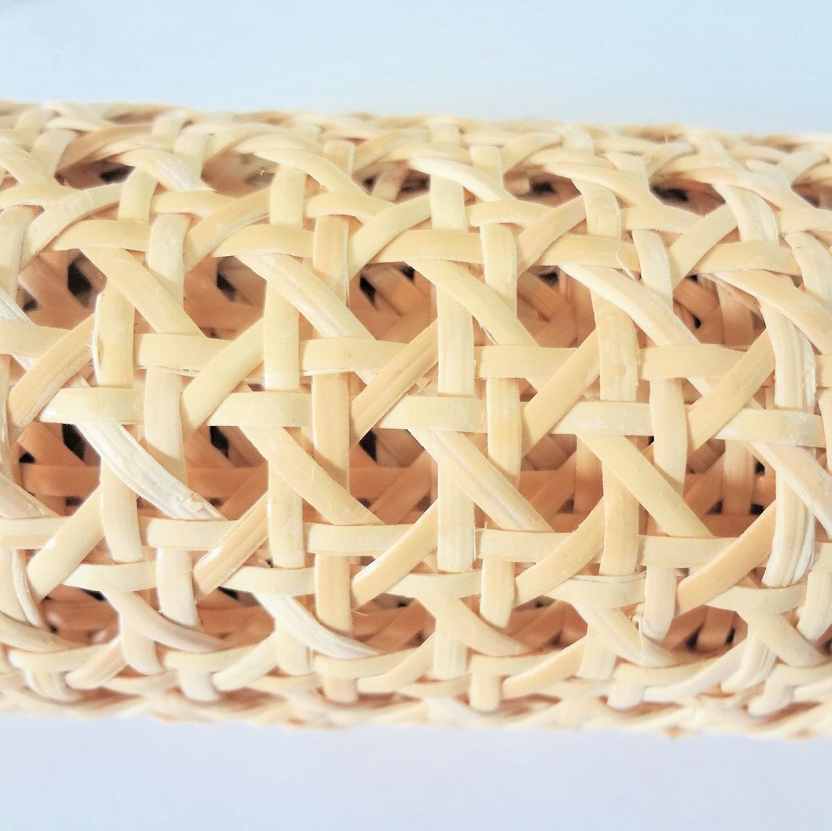 籐カゴメ編み8分の3 45cm幅 1m ブリーチ