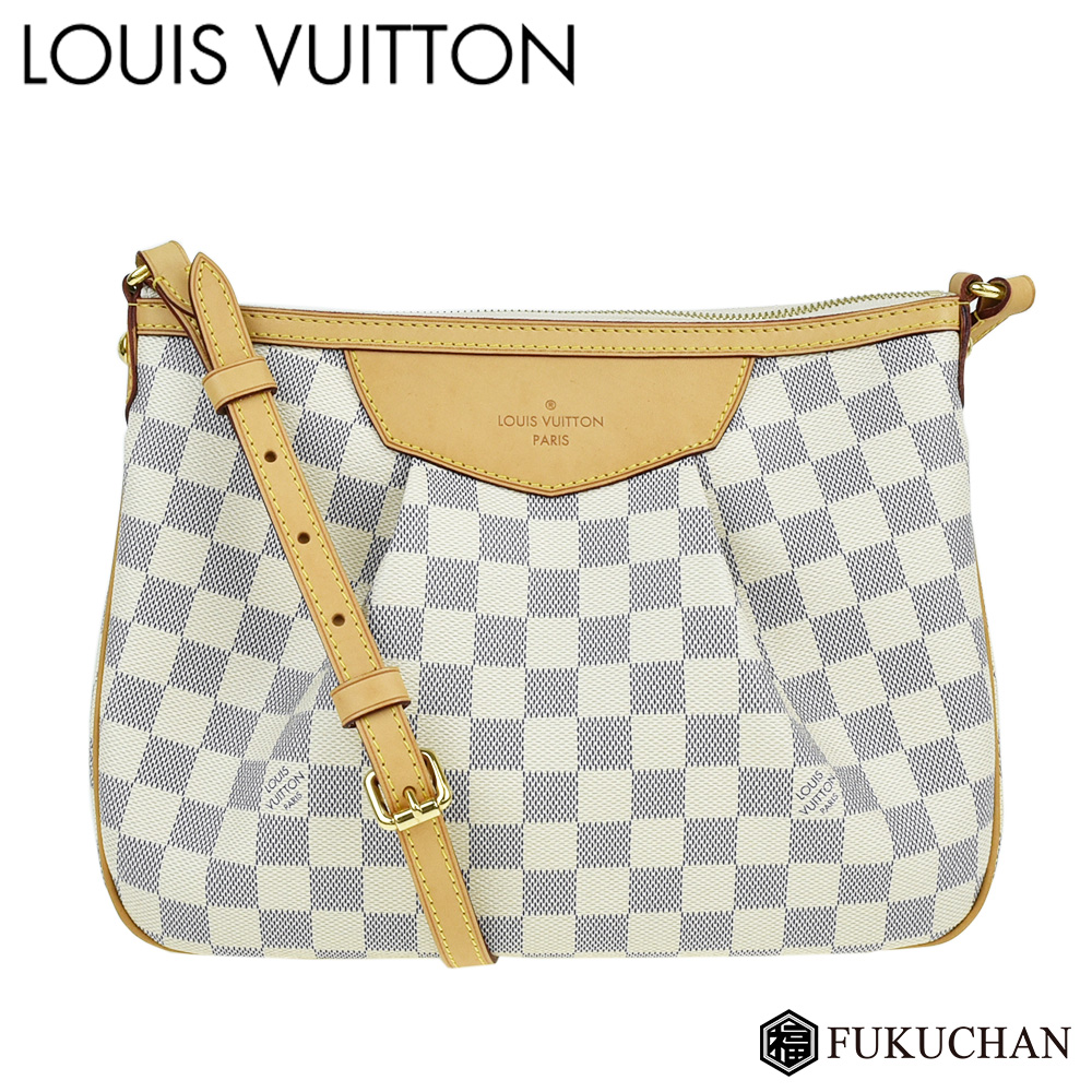 【LOUIS VUITTON/ルイ・ヴィトン】ダミエ・アズール シラクーサPM N41113 【中古】≪送料無料≫