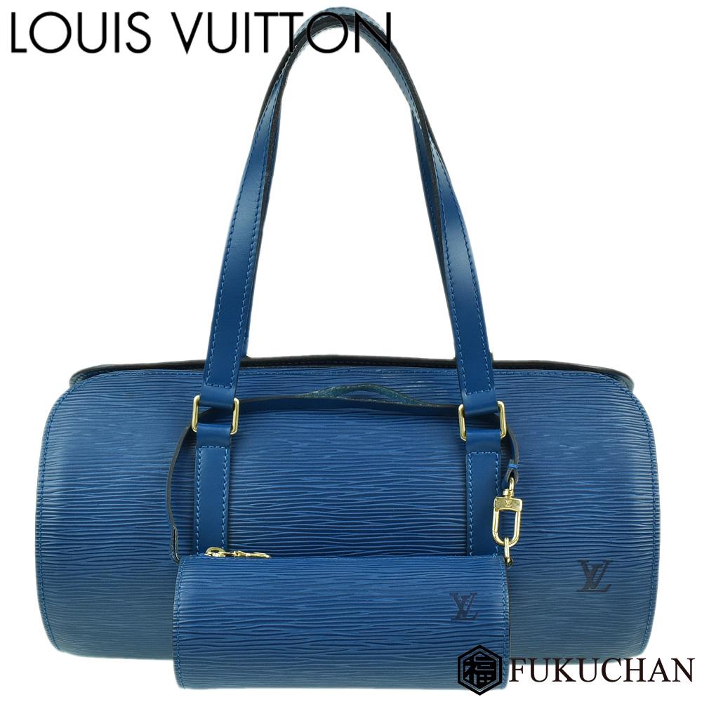 【LOUIS VUITTON/ルイ・ヴィトン】エピ スフロ トレドブルー M52225 【中古】≪送料無料≫