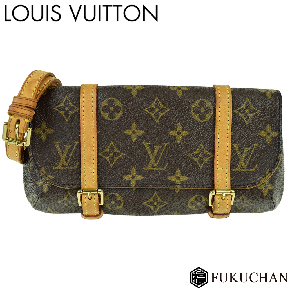 【LOUIS VUITTON/ルイ・ヴィトン】モノグラム ポシェット・マレル M51159 【中古】≪送料無料≫