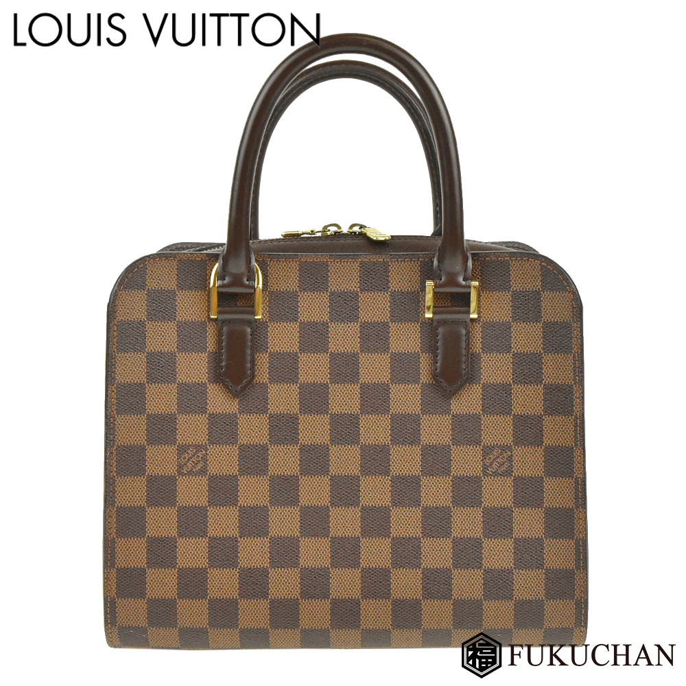 【LOUIS VUITTON/ルイ・ヴィトン】ダミエ・エベヌ トリアナ N51155 【中古】≪送料無料≫