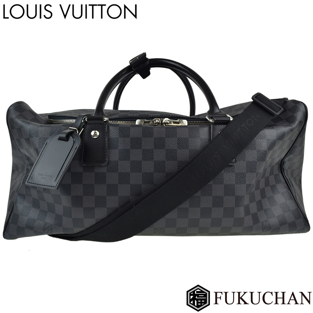 【LOUIS VUITTON/ルイ・ヴィトン】ダミエ・グラフィット ロードスター50 N48189 【中古】≪送料無料≫