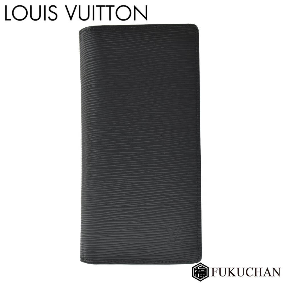 【LOUIS VUITTON/ルイ・ヴィトン】エピ ポルトフォイユ・ブラザ ノワール M60622 【中古】≪送料無料≫