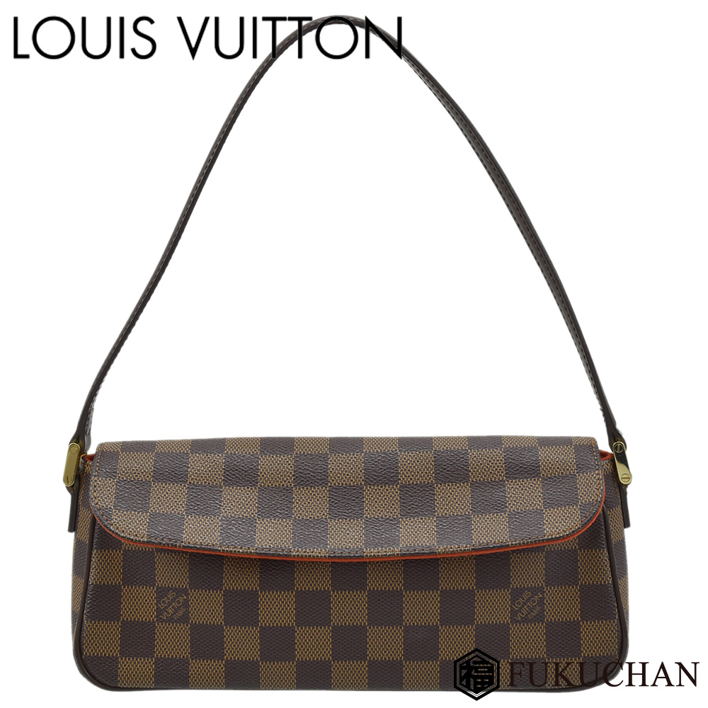 【LOUIS VUITTON/ルイ・ヴィトン】ダミエ・エベヌ レコレータ N51299 【中古】≪送料無料≫