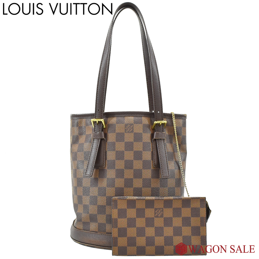 【LOUIS VUITTON/ルイ・ヴィトン】ダミエ・エベヌ マレ N42240 【中古】≪送料無料≫