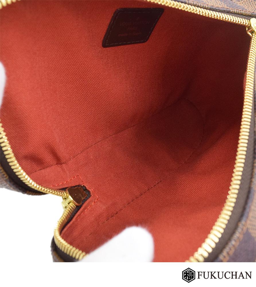 【LOUIS VUITTON/ルイ・ヴィトン】ダミエ・エベヌ ジェロニモス 旧型 N51994≪≫