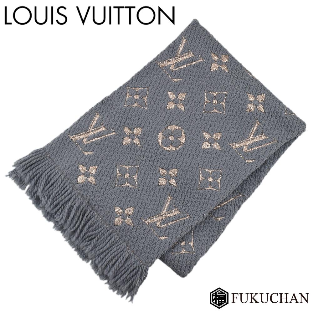 【ファッション通販】 【LOUIS VUITTON/ルイ シャイン・ヴィトン】エシャルプ・ロゴマニア シャイン ウール×シルク×ポリエステル グリ グリ M70467 M70467【中古】≪送料無料≫, じゅういちや:d361e400 --- enduro.pl
