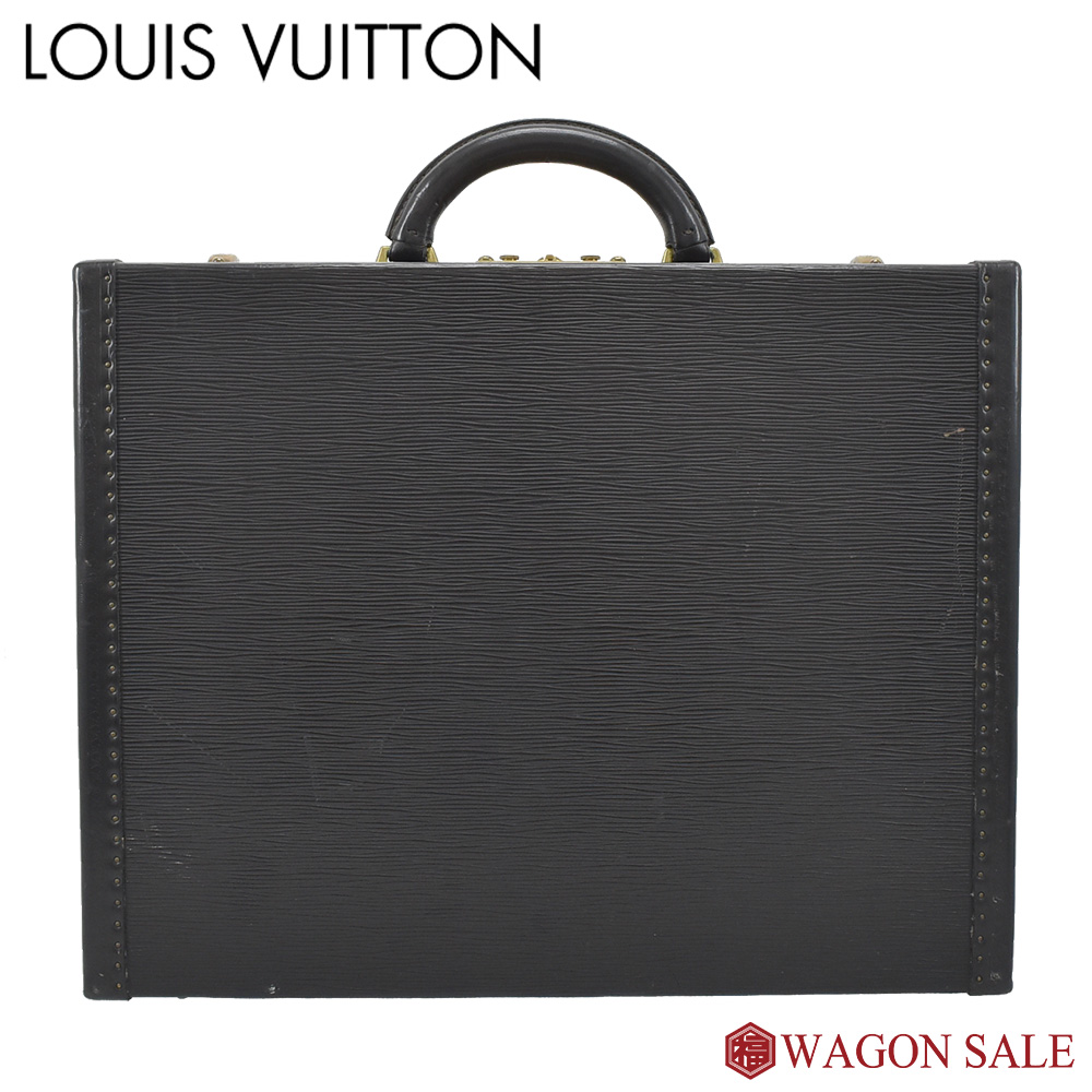 【LOUIS VUITTON/ルイ・ヴィトン】 エピ プレジデント ノワール M54212 【中古】≪送料無料≫