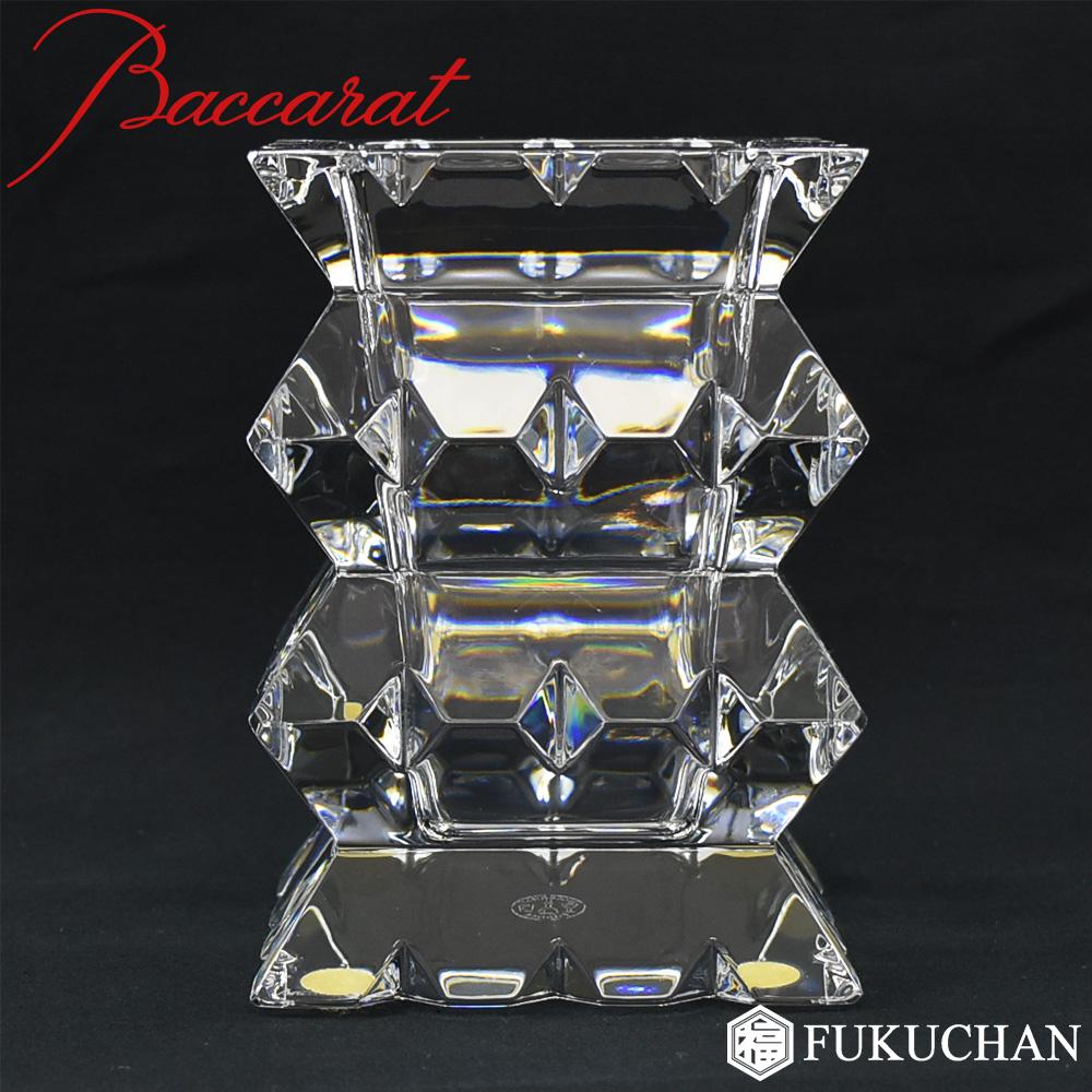 【Baccarat/バカラ】ARLEQUIN/アルルカン ベース/花瓶 11cm 2100972 【中古】