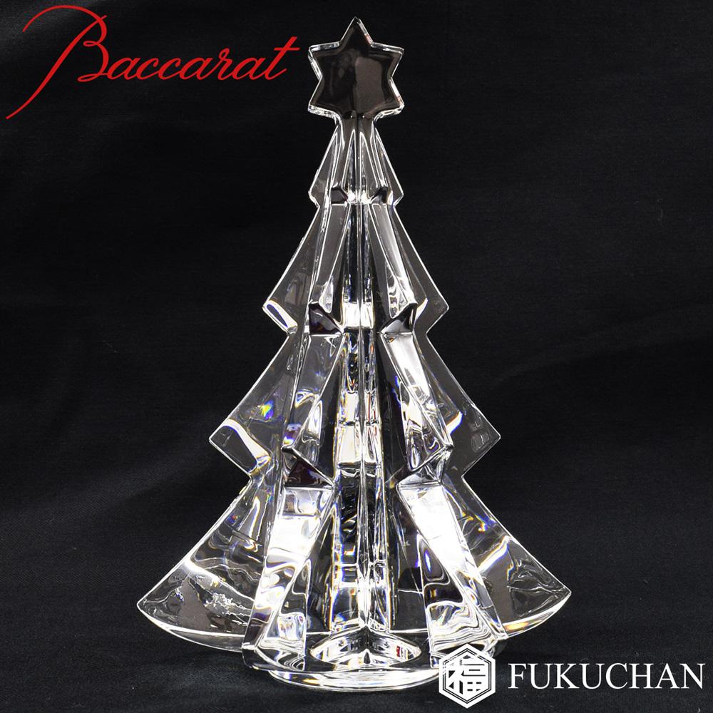 【Baccarat/バカラ】クリスマスオーナメント ノエル メリベル クリア ツリー オブジェ/置物 2811193 【中古】