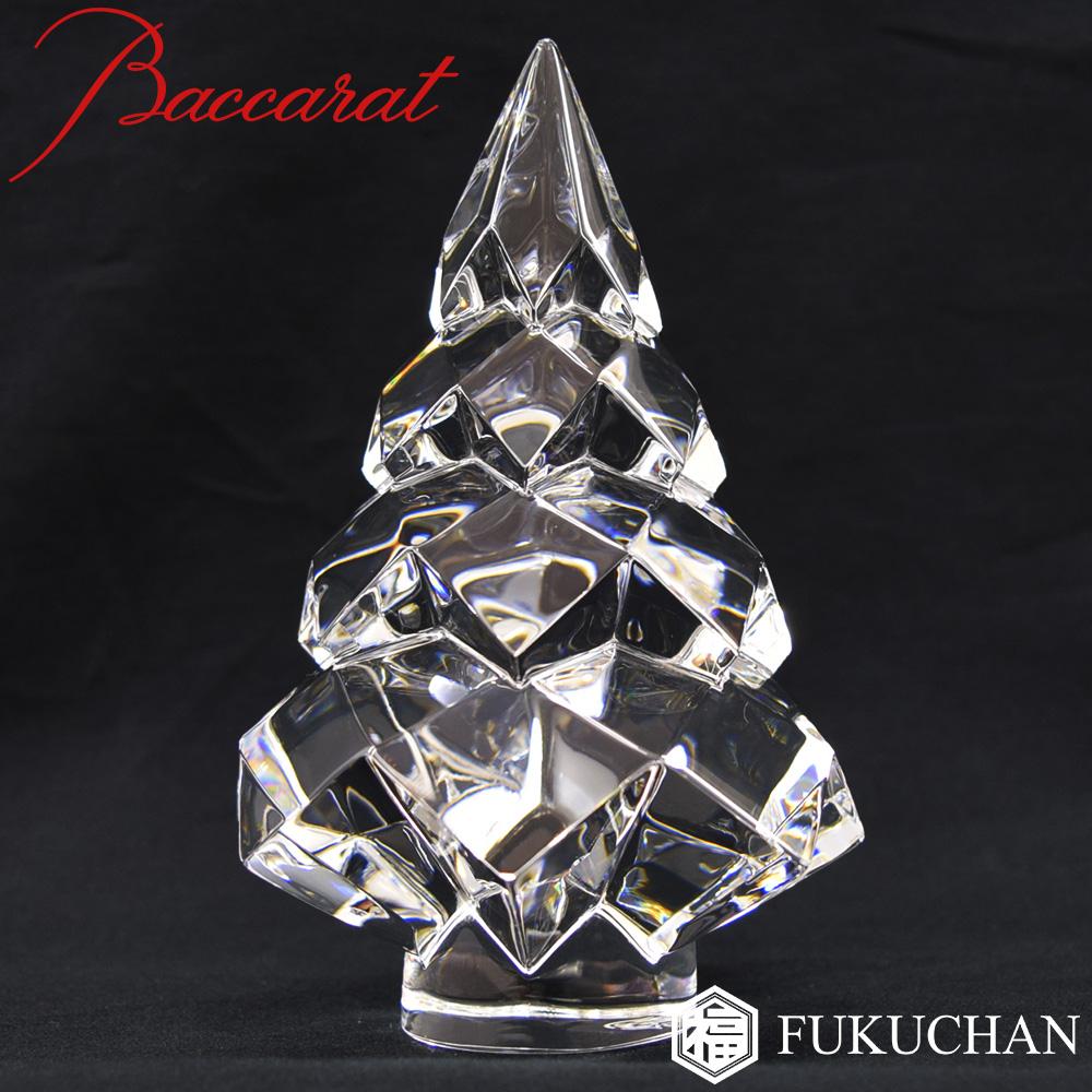 【Baccarat/バカラ】クリスマスオーナメント NOEL/ノエル クリア ツリー オブジェ/置物 2101700【中古】