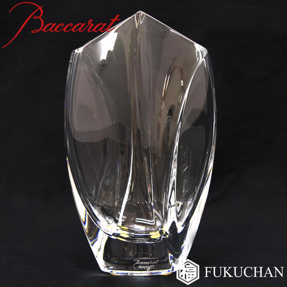 【Baccarat/バカラ】ジベルニー フラワーベース 花瓶 17.5cm 1792546 【中古】